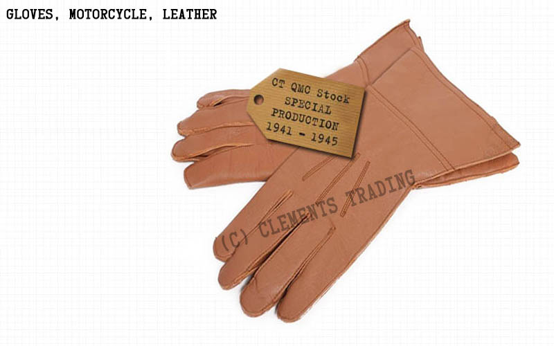 Gloves, Motorcycle, Leather