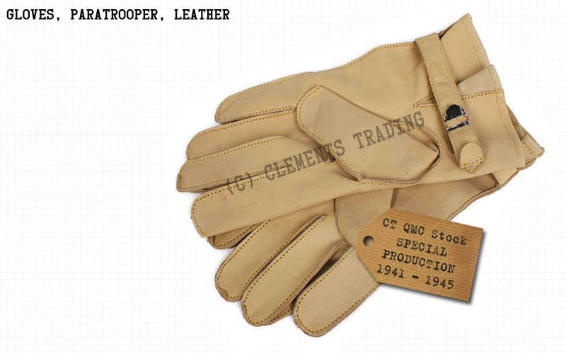 Gloves, Paratrooper, Leather