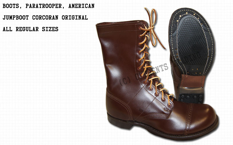 Boots, Paratrooper, Corcoran, American