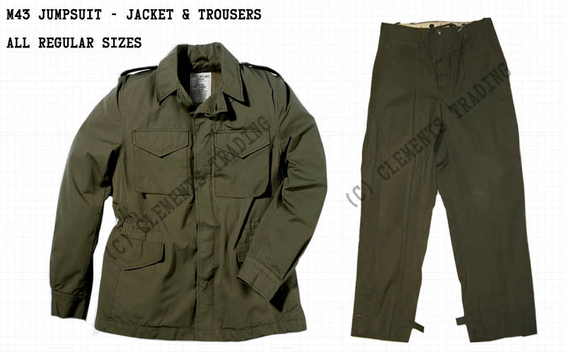 Jumpsuit, M43, Jacket & Trousers