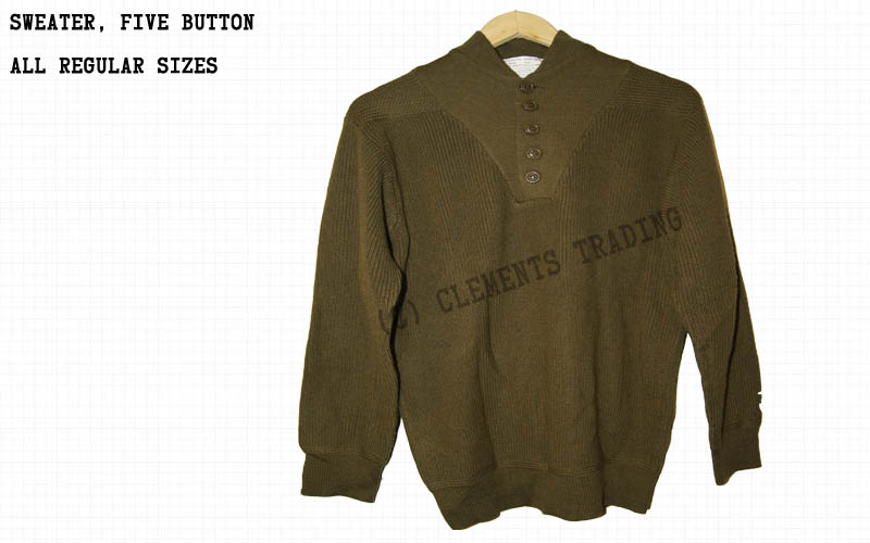 Sweater, Five Button